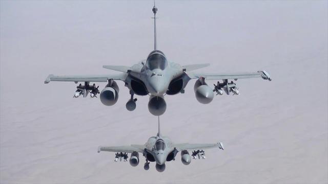 Rafale en opération en Irak.