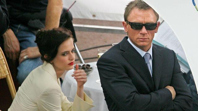 Eva Green aux côtés de Daniel Craig