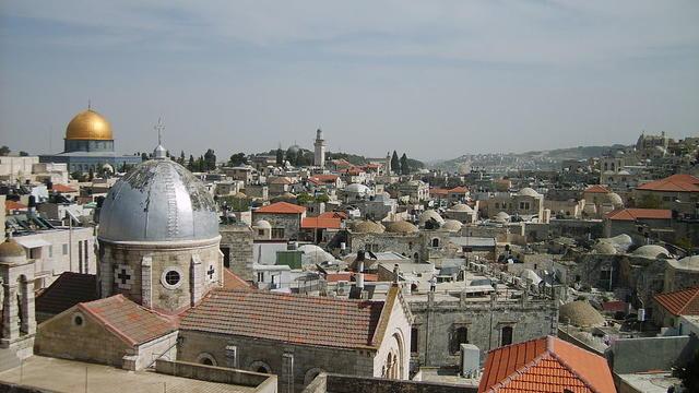 Une vue de Jérusalem.