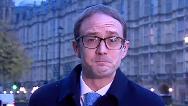 Le journaliste britannique Chris Mason