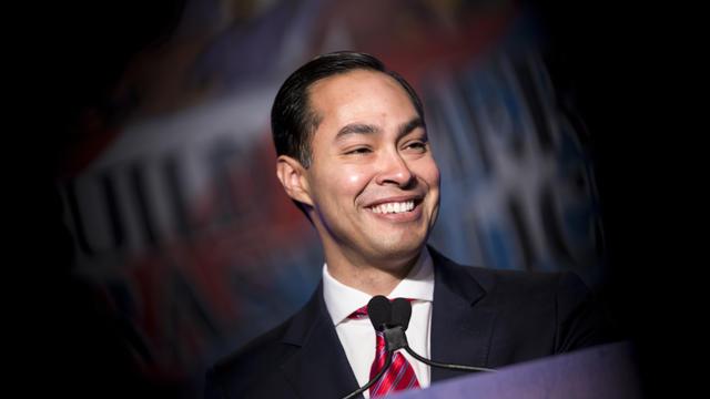L'ambitieux latino Texan, Julian Castro, a annoncé en janvier sa candidature à la présidentielle américaine