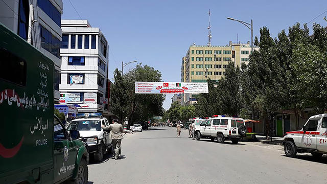 Afghanistan: plusieurs fortes explosions entendues à Kaboul