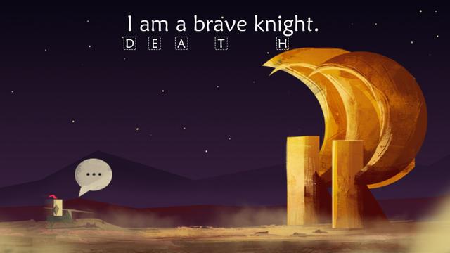 """""""I am a brave knight"""" est un jeu poétique et étonnant sur smartphones."""