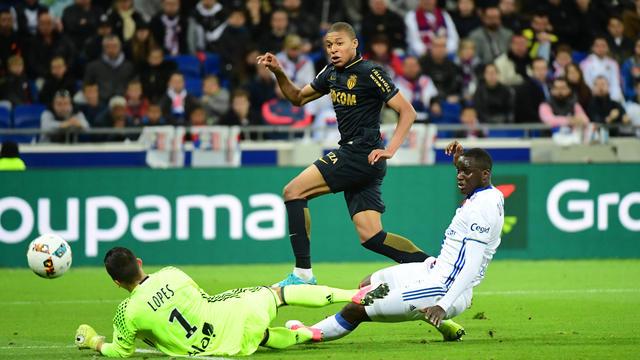 A Lyon, Kylian Mbappé a inscrit son 17e but lors des ses 17 derniers matchs avec Monaco toutes compétitions confondues.