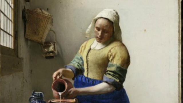 Vermeer S Invite Au Louvre Cnews