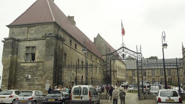 Le palais de justice de Laon où a été présenté le suspect.