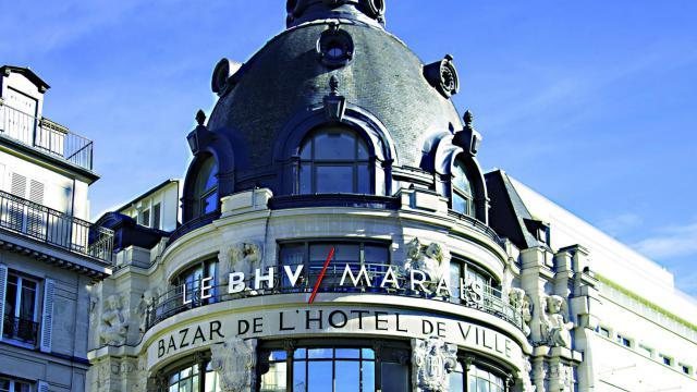 Le BHV Marais va mettre les Internationaux de France de tennis à l'honneur jusqu'au 20 juin.