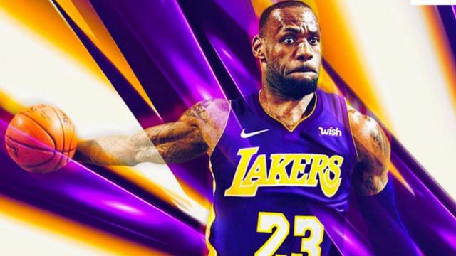 d8dfb9285fc LeBron James a rejoint les Lakers pour les quatre saisons à venir.  ©B R