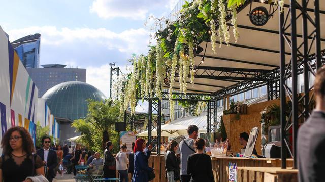 Le Jardin Défendu peut accueillir 900 personnes.