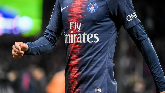 Les joueurs du PSG ont joué avec leur nouveau maillot en fin de saison dernière.