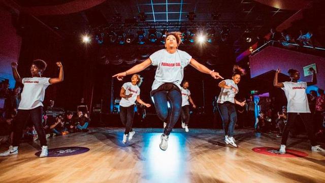 Le collectif PARADOX SAL, star de la soirée Paris Danse Hip hop.