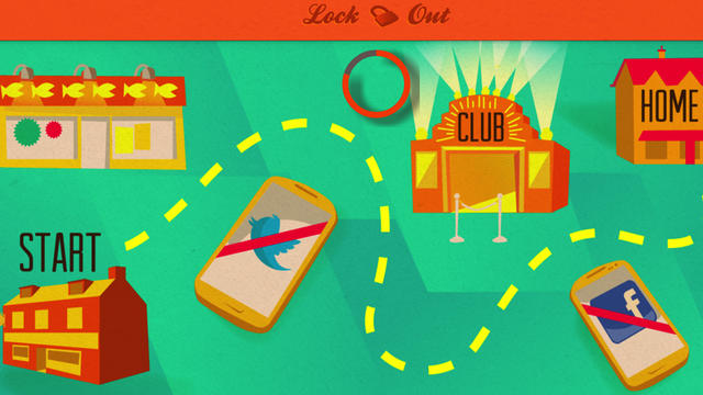 Lock-Out est une appli utile lors des nuits d'ivresses.