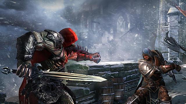 Lords of the Fallen promet des combats dantesques où il faudra s'armer de courage pour vaincre.