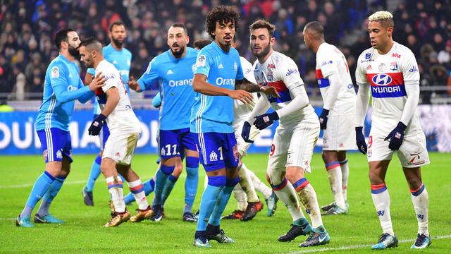 Marseille et Lyon sont à la lutte pour la 3e place sur le podium de la Ligue 1.