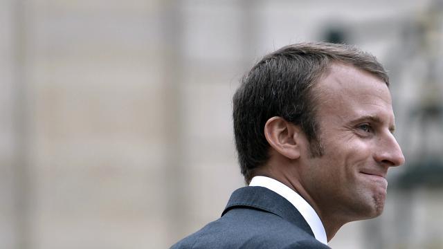 Le ministre de l'Economie, Emmanuel Macron.