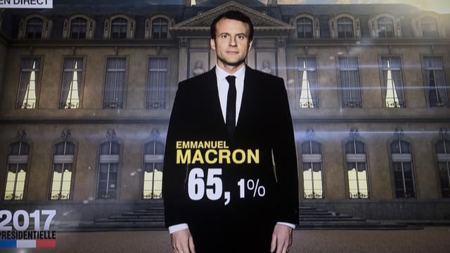 Macron élu président
