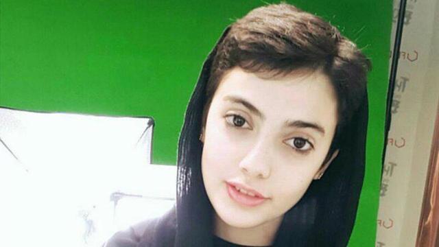 Maedeh Hojabri, la jeune fille arrêtée par la police, a reçu de nombreux soutiens endiablés.