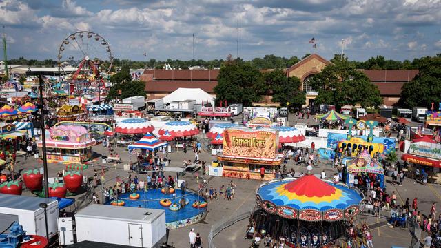 Le parc d'attractions Ohio Fair State avait ouvert ses portes le jour même quand le drame est survenu.