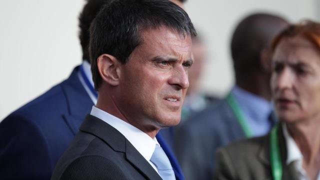 Manuel Valls le 23 août 2014 à Caen [Charly Triballeau / AFP/Archives]