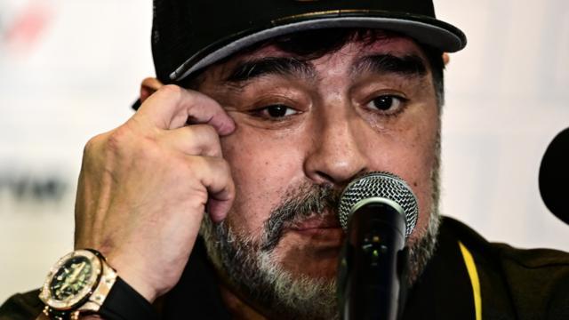 Diego Maradona est déjà père de cinq enfants.