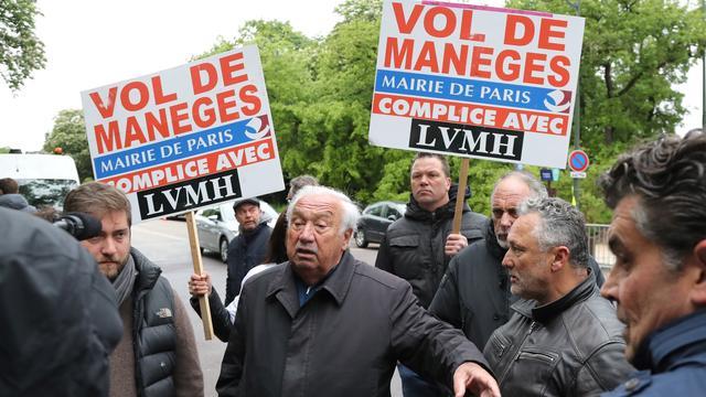 Le roi des forains Marcel Campion souhaite frapper fort mercredi 22 mai en bloquant le périphérique parisien.