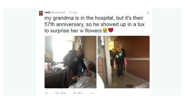 Pour Leur 57e Anniversaire De Mariage Il Fait Une Surprise