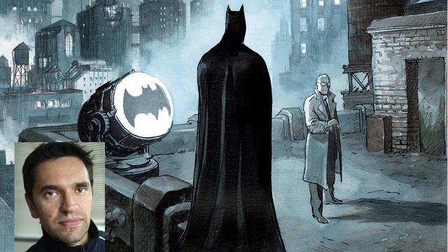 Le scénariste et dessinateur italien a pris plaisir à croquer le super-héros légendaire.
