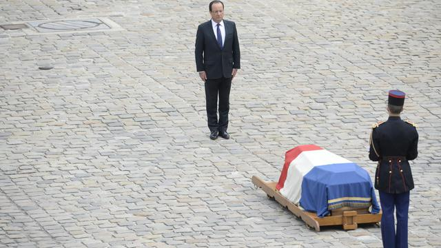 Hommage national aux Invalides