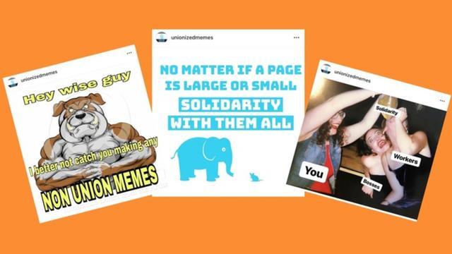 Les mèmes internet se présentent sous la forme d'une image décalée accompagnée d'un texte humoristique ou sarcastique, écrit en lettres majuscules et en gras.