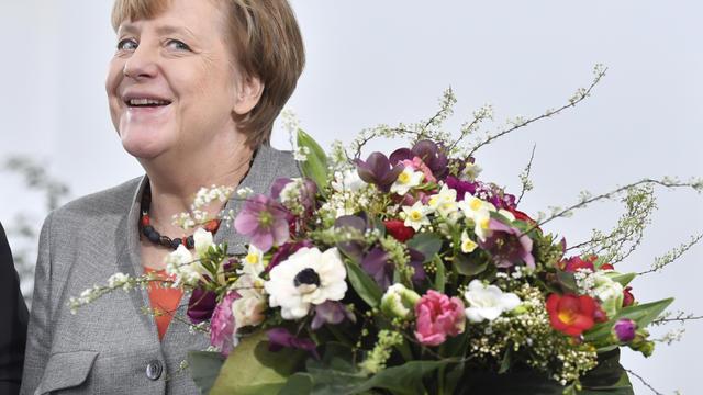 La chancelière allemande Angela Merkel à Berlin, le 9 février 2018.
