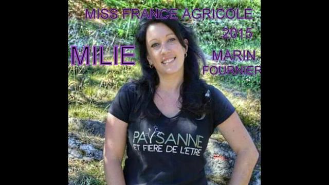 Émilie Marin-Fournier, viticultrice et maraîchère près d'Aix-en-Provence, est la nouvelle miss France Agricole 2015.