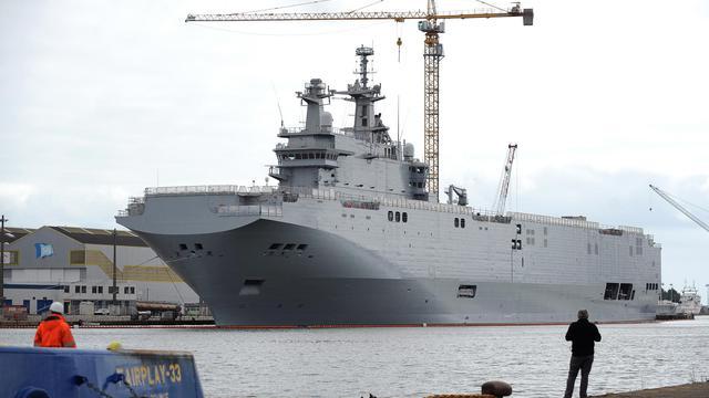 Le Vladivostok, l'autre Mistral prévu pour la Russie.