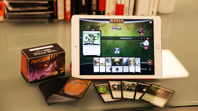 """""""Magic Duels"""" dématérialise le célèbre jeu de cartes à collectionner."""