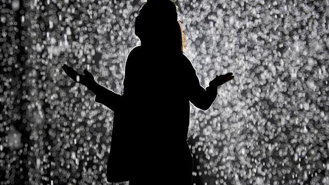 Une pluie qui ne mouille pas ? Une réalité au Museum of Modern Art de New York.