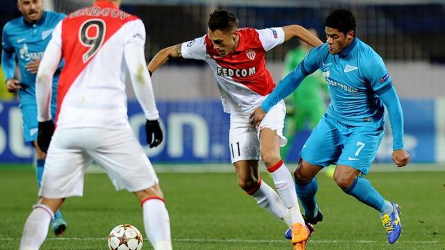 Les Monégasques n'ont inscrit qu'un but en trois rencontres de Ligue des champions cette saison.