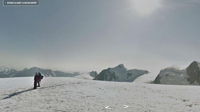 L'arête des Bosses, près du sommet, depuis son canapé.