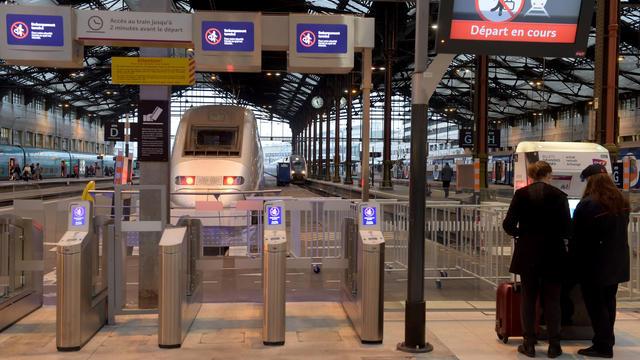 La Gare Montparnasse fait face à une panne.
