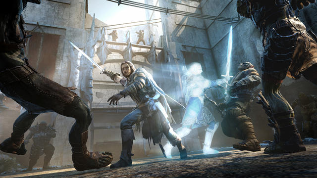 """""""L'ombre du Mordor"""" invite à incarner le héros Talion, dans sa quête de vengeance en Terre du Milieu."""