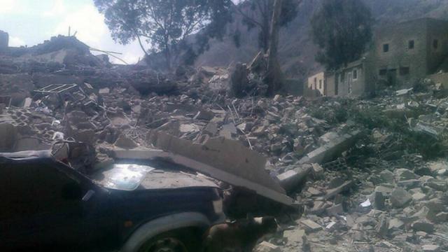 Le dernier hôpital fonctionnel de la région de Haydan, au Yémen, a été bombardé.