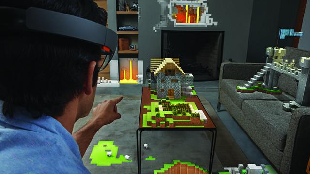 Le système Hololens permet de marier le virtuel au réel.