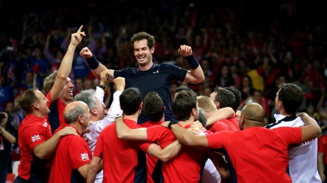 Andy Murray a remporté ses onze matchs de Coupe Davis cette saison.