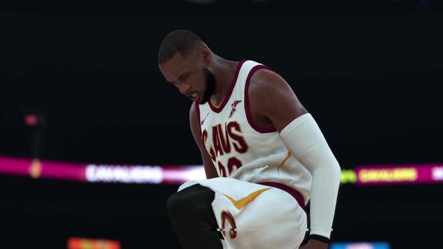 5e218b2942a07 LeBron James, plus réaliste que jamais dans NBA 2K18.[Capture d'écran  Youtube / NBA 2K]