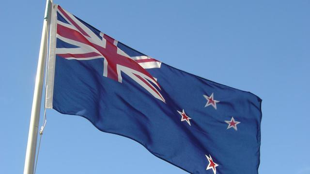 Le drapeau de la Nouvelle-Zélande mélange l'Union jack et une figuration représentant la constellation d'étoile Croix du Sud.[CC / Tākuta]