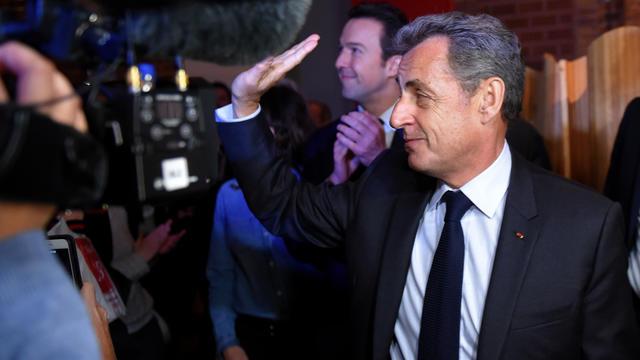 Nicolas Sarkozy s'est exprimé sur «les scènes de violence auxquelles nous assistons depuis des mois», lors d'une cérémonie de voeux du numéro 2 des Républicains, Guillaume Peltier.