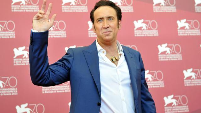 Nicolas Cage figure à la quinzième place du classement.