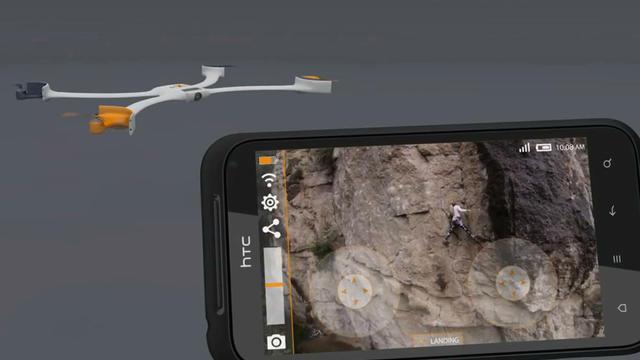 Le Nixie est un petit drone qui peut être replié pour se transformer en bracelet.