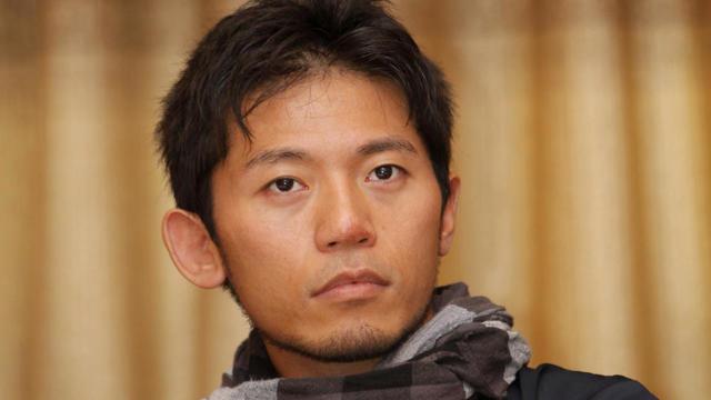L'alpiniste japonais Nobukazu Kuriki, le 23 août 2015, à Katmandou (Népal).