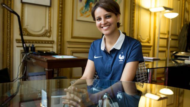 La ministre des Sports, Najat Vallaud-Belkacem.