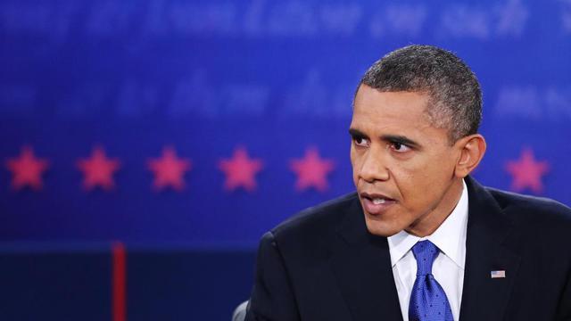 Barack Obama lors du débat du 22 octobre.