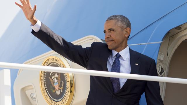 Barack Obama s'est envolé pour Hawaï mercredi 31 août 2016.